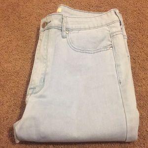 High waisted F21 skinny jeans